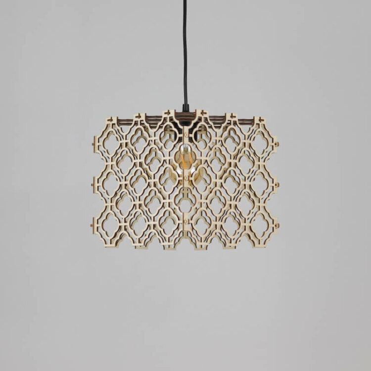 wooden lampshade akashi