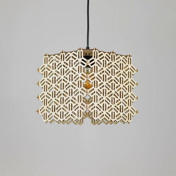 ξύλινο φωτιστικό ayaqava