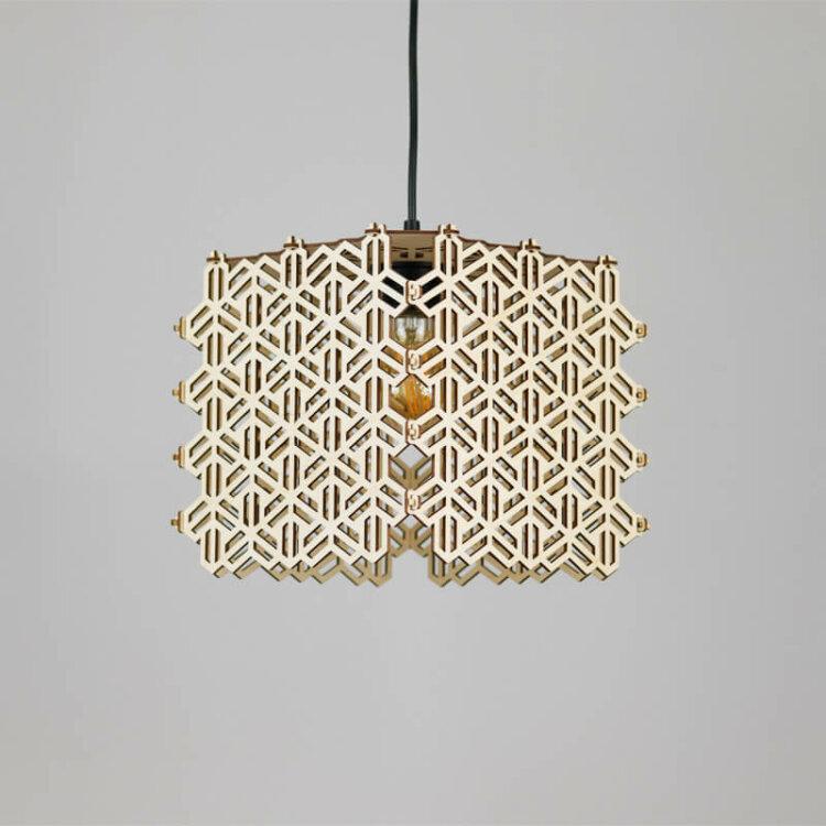 wooden lampshade ayaqava
