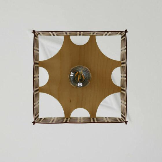 wooden lampshade inazuma