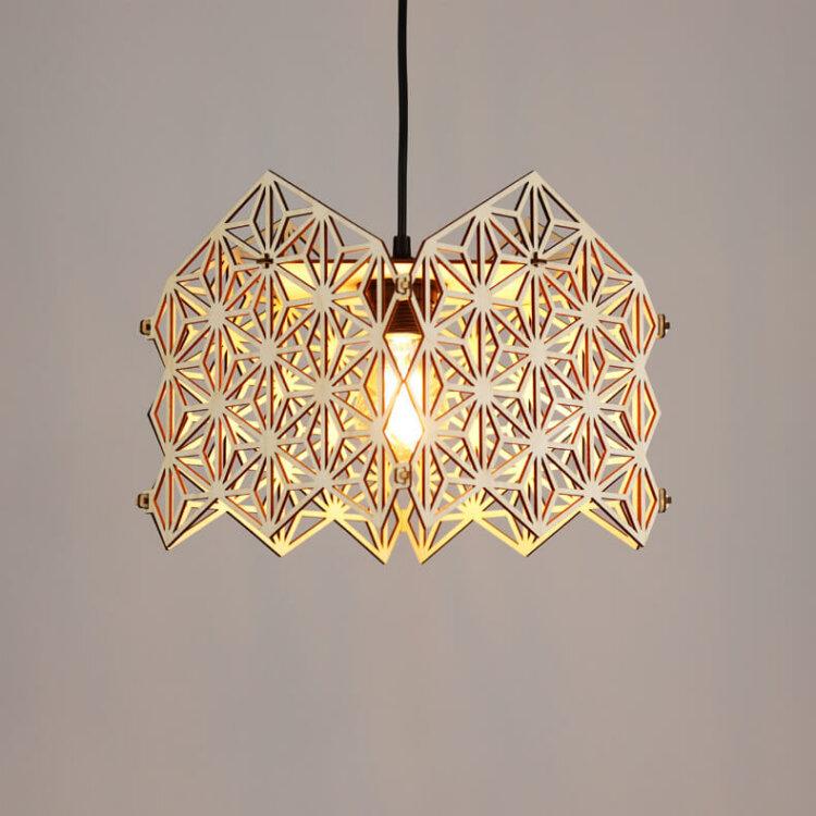 wooden lampshade onomatsu