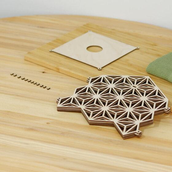 ξύλινο φωτιστικό onomatsu